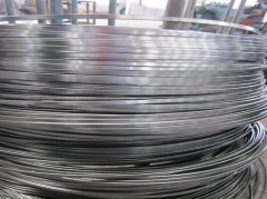 Oil tempered irregular steel wire