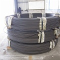 Lead-quenched steel wire